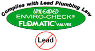 Complies with Lead Plumbing Law