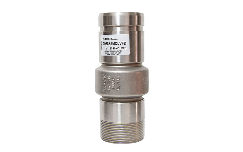 80S6MCLVFD - Stainless Steel Check Valves  - Standard Systems or Variable Flow Demand  (VFD controlled pumps)