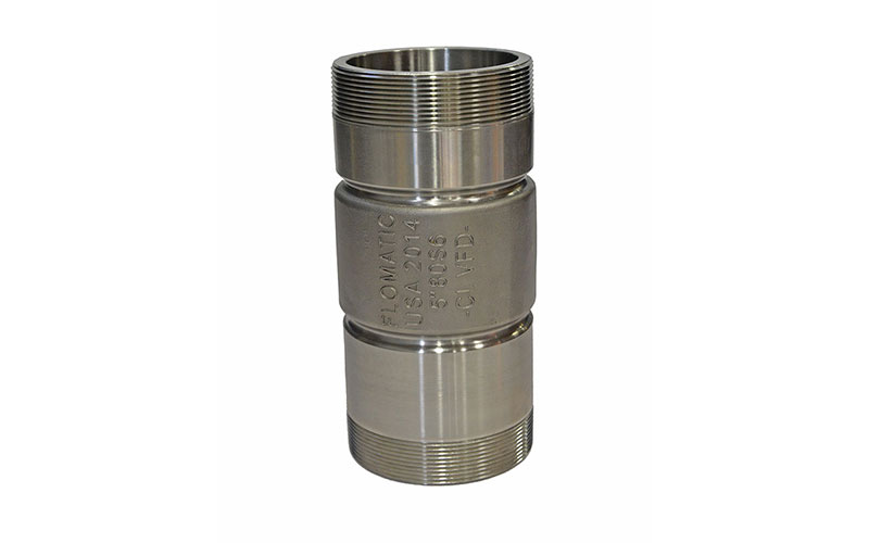 82S6VFD - Stainless Steel Check Valves  - Standard Systems or Variable Flow Demand  (VFD controlled pumps)