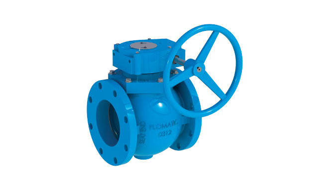 Flo-E-Centric® Plug Valve with Gear Box Model 54-0 (Direct Mounted)