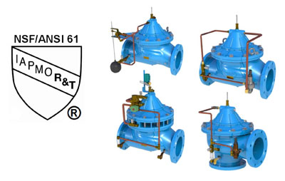 Flomatic® Introduces NSF/ANSI 61 aprroval on Automatic Control valves