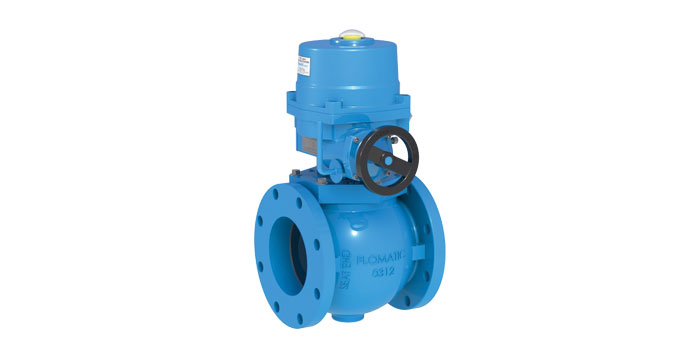 54-A FlowE-Centric Plug Valve with Actuator | Flomatic Valves