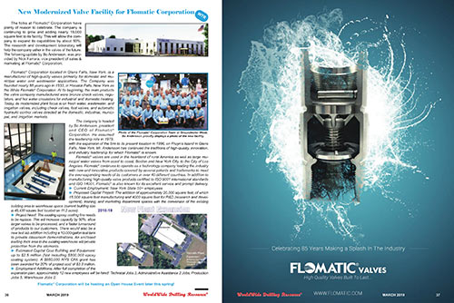 Flomatic<sup>&reg;</sup> Ad In WWD