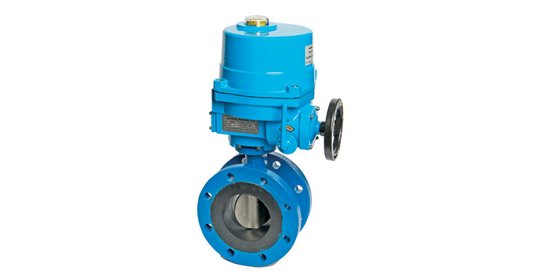 Butterfly Valves, Actuated   Flomatic Valves