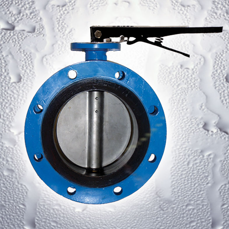 Lever Butterfly Valve : Azure lever operated butterfly valves flomatic corp