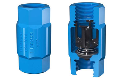 "Flomatic® Introduces 1"" & 1 1/4"" Model 80DIVFD Check valves"