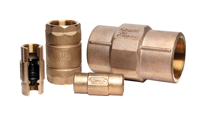 80EVFD / 100EVFD - VFD - Enviro Check Valves - Standard Systems or Variable Flow Demand (VFD controlled pumps)