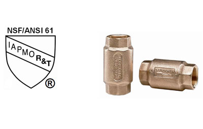 Flomatic® Introduces NSF/ANSI 61 approved on Model 80E Enviro Check valves