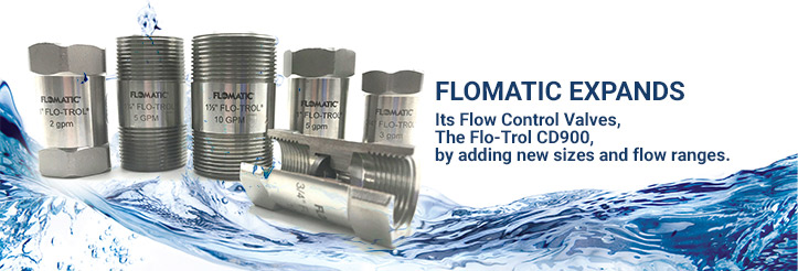 Flomatic Expands Its Flow Control Valves The Flo Trol Cd900 By