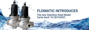 stainless steel model Cycle Gard IV direct acting constant pressure pump control valve