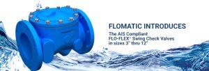 new AIS compliant swing check valve