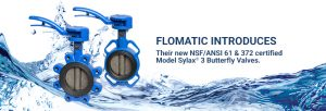 new NSF/ANSI 61 and 372 certified butterfly valves
