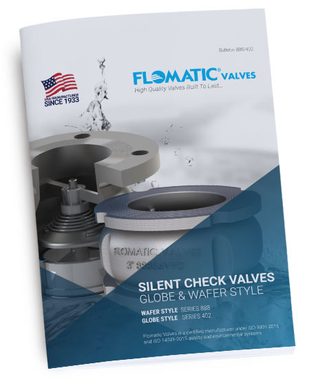 Silent Check Valves, Wafer and Globe Style Literature